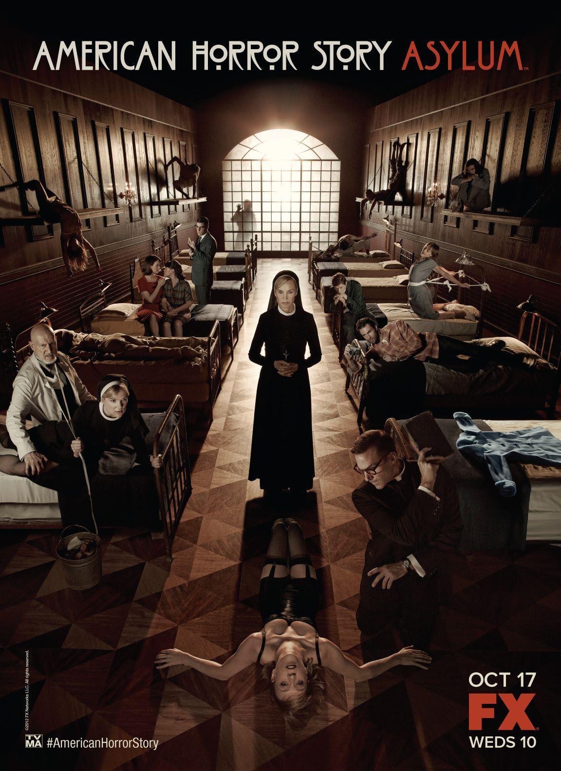 American Horror Story - Asylum: il poster internazionale